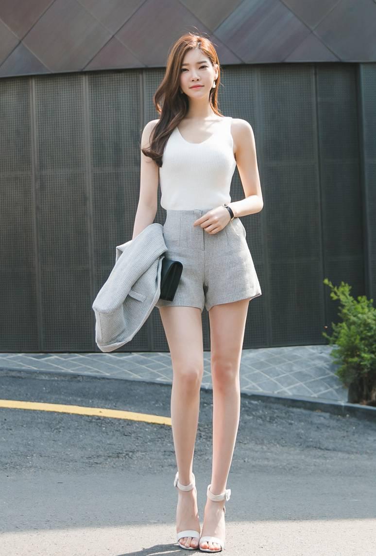 韩国时尚美腿美女模特